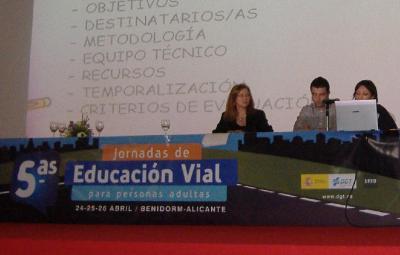 5as JORNADAS DE EDUCACIÓN VIAL PARA ADULTOS EN BENIDORM
